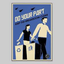 target the breakroom not working on black friday office propaganda breakroom blue poster break room room and