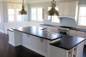 Kitchen Ideas White Cabinets Black Countertop Horse Bathroom Set