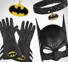 Batgirl Halloween Costume Accessories Superhero Masks Capes Gloves U0026 Accessories Party