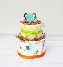 jungle baby shower decorations safari diaper cake neutral jungle