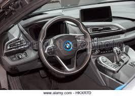 I8 Bmw Interior Modern Luxury Sports Car With Plug In Hybrid System Bmw I8 Stock