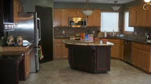 Kitchen Wall Colors With Light Wood Cabinets Maple Wood Black Prestige Door Kitchen Paint Colors With Light Oak