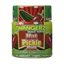 pickle salt spicy pickles flavored seasoning snack topping