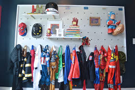 how to create a diy pegboard wall for versatile kids u0027 storage