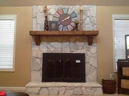 painting stone fireplace white top fascinating images of living