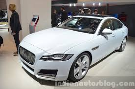 jaguar cars 2016 india bound 2016 jaguar xf 2015 frankfurt motor show live