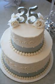 35 wedding anniversary 35th wedding anniversary cakes idea in 2017 wedding