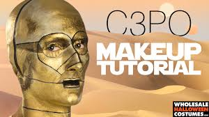 wholesale halloween masks c 3po makeup tutorial wholesale halloween costumes blog