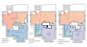 our basement part 7 bathroom layout stately kitsch basement layouts