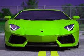 neon green lamborghini aventador most intimidating cars zero to 60 times