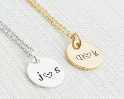 couples necklace images Couples necklace etsy jpg