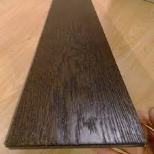china multi layer smoked black oak engineered wood flooring