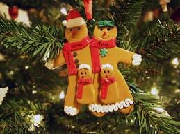 gingerbread family ornament don t be timid and squeamish
