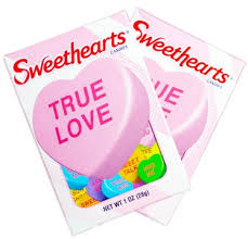 hearts candy sweethearts conversation hearts 36ct candystore