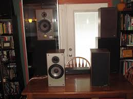 paradigm home theater alot of vintage gear speakers turntables receivers and more