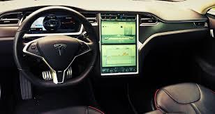 Tesla Interior Model S 2013 Tesla Model S P85 Performance Review Not A Very Range