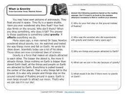 comprehension worksheets grade 6 worksheets