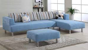 Blue Sectional Sofa With Chaise Sky Blue Apartment Sectional Sofas Chaise Sectional Sofas