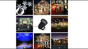 ecandy moving snowflake spotlight indoor outdoor led landscape