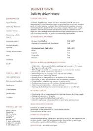 Taxi Driver Resume Best Solutions Of Sample Of Driver Resume With Sample Gallery