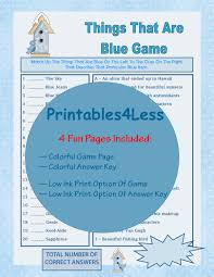 thanksgiving taboo game things that are blue game fun party game ideas fun printable