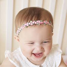headband baby baby floral headband baby flower crown flower girl headband