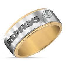 spinner ring washington redskins spinner ring the danbury mint
