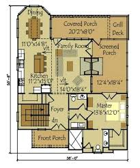 small cottages floor plans small vacation home plan small cottage plan with walkout basement