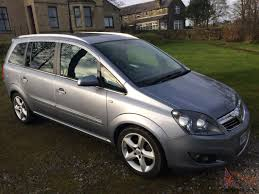 vauxhall silver vauxhall zafira sri silver 51000 miles 7 seater swap land rover