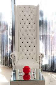 High Back Armchair White Leather Highback Armchair Ten And A Half Thousand Things
