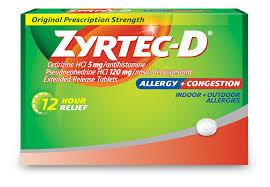 Obat Cetirizine 10 Mg zyrtec d皰 allergy treatment decongestant zyrtec皰