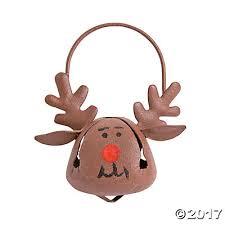 bell reindeer ornaments