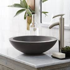 native trails trough sink exclusive concrete bathroom sinks morro vessel sink native trails
