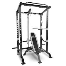 marcy pro full cage and weight bench personal home gym total body