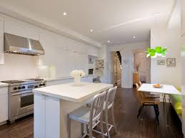 Sleek Kitchen Design Featured In A Traditional Townhouse This Kitchen Was Given A