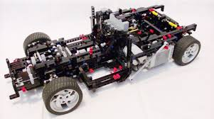 lego technic car sheepo u0027s garage supercar 2009 complete chassis