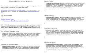 Financial Planning Worksheet Introducing The Business Plan For Writers Worksheet Jami Gold