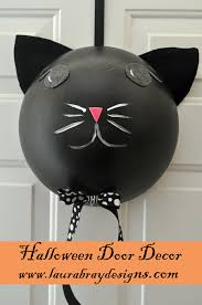 black cat door hanger black cat halloween decorations smoothfoam