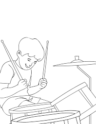 instrument coloring pages to print virtren com