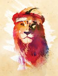 lion print wall art crudearea com