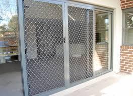 Patio Door Gate Security Gate For Sliding Glass Doors Arachnova