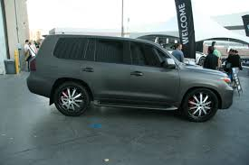 lexus matte white matte grey modified lexus lx570 3 madwhips