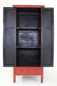 Wohnzimmerschrank Rot Hoher Schrank Kleiderschrank Spind Rot Lf031 R 001 U2013 Unterholz
