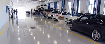bmw workshop automotive industry gallery vuka floors epoxy and polyurethane
