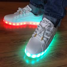soulja boy light up shoes kidd island s beezy lights the top kids shoe out this year