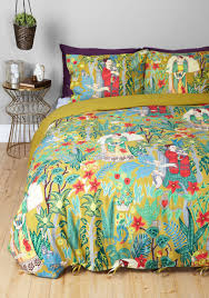 Modcloth Home Decor Paint Me A Picture Duvet Cover Set In Full Queen All Abode