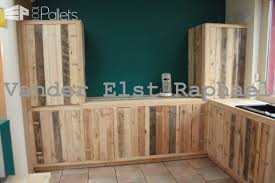 Recycled Kitchen Cabinets Kitchen Makeover With Recycled Pallets U2022 1001 Pallets