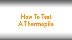 fireplace how to testing a thermopile youtube