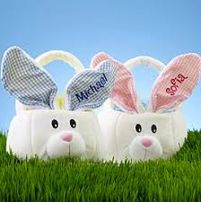 personalized easter bunnies great easter basket ideas
