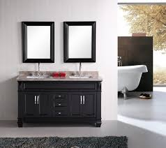 60 inch bathroom vanity double sink lowes bathroom engaging bathroom decoration design ideas using black wood